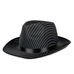 12 Units of Gangster Hat One Size Fits Most - Costumes & Accessories