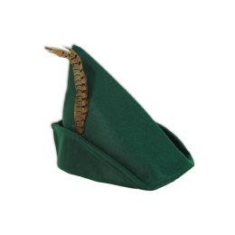 12 Units of Felt Robin Hood Hat one size fits most - Costumes & Accessories