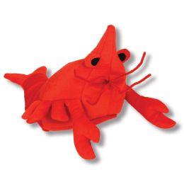 6 Units of Plush Crawfish Hat One Size Fits Most - Plush Toys