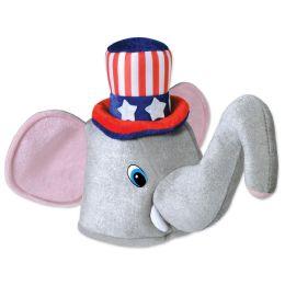 6 Units of Plush Patriotic Elephant Hat One Size Fits Most - Plush Toys
