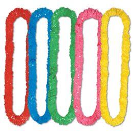 720 Units of SofT-Twist Poly Leis Asstd Colors - Party Necklaces & Bracelets