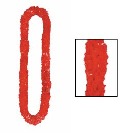 720 Units of SofT-Twist Poly Leis Red - Party Necklaces & Bracelets