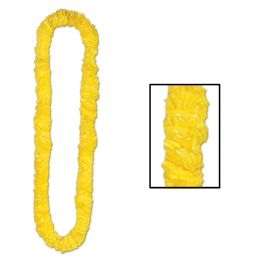 720 Units of SofT-Twist Poly Leis Yellow - Party Necklaces & Bracelets