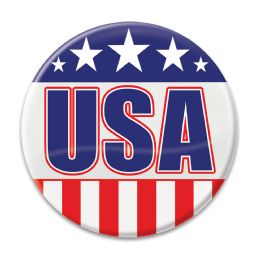 6 Units of USA Button - Store