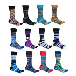 9600 Units of Alberto Cardinali Mens Pattern Dress Socks - Mens Dress Sock