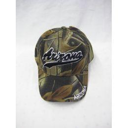 12 Units of Arizona Camo Caps - Baseball Caps & Snap Backs