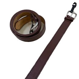 36 Units of Belt Wide Brown XXLarge Only - Mens Belts