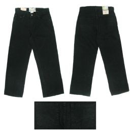 12 Units of Boys 5Pkt Denim Jeans w/ Back Embroidery Detail Size 14 Only - Boys Jeans & Pants