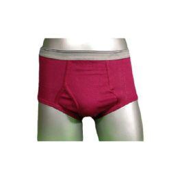 240 Units of Boys Color Fly Front Brief Size Medium - Boys Underwear