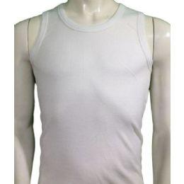 36 Units of Boys Tank Top Sizes 4-6 Striped - Boys T Shirts