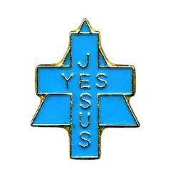 "96 Units of Brass Hat Pin, ""Yes Jesus"", - Hat Pins & Jacket Pins"