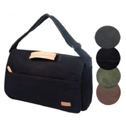 4 Units of CANVAS COMPUTER BAG IN OLIVE - Computer Accessories