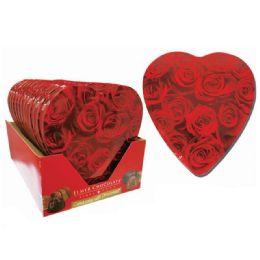 12 Units of Chocolate Rose Bouquet Happy Valentine - Valentine Decorations