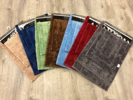 12 Units of DALLAS TAUPE 2PC RUG SET - Bath Mat Sets