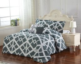 3 Units of DANAKO 5 PIECE COMFORTER SET KING SIZE - Comforters & Bed Sets