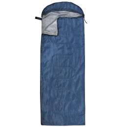10 Units of Yacht & Smith Temperature Rated 72X30 Sleeping Bag Solid Navy - Sleep Gear