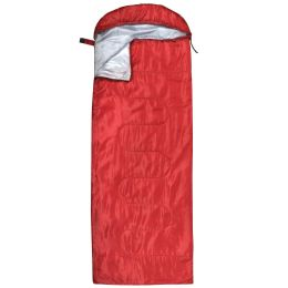 10 Units of Yacht & Smith Temperature Rated 72X30 Sleeping Bag Solid Red - Sleep Gear