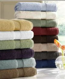 6 Units of Designer Luxury Heavy Weight 100 Percent Egyptian Bath Towel In Charcoal - Bath Towels