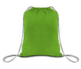 2000 Units of Economical Sport pack- Lime Green - Tote Bags & Slings