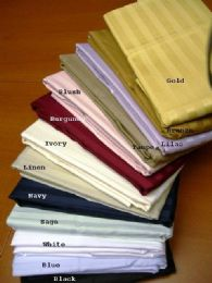 8 Units of Egyptian Cotton Pillowcase In Blue - Pillow Cases