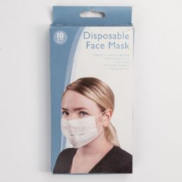 48 Units of Face Mask Disposable 10pk One Size - First Aid Gear