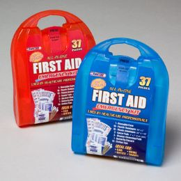 33 Units of First Aid Kit 37 Pcs In Plastic Case - First Aid and Hygiene Gear
