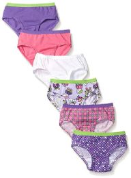 144 Units of Fruit Of The Loom Toddler Girls Panty Brief Size -4t - Girls Underwear and Pajamas