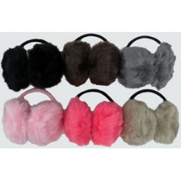 120 Units of Fur Ear Muffs - Ear Warmers