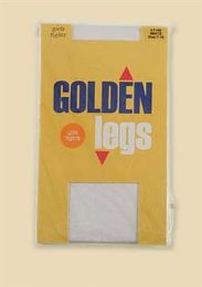 72 Units of Golden Legs Kids Tights Size 7-10 In Black - Childrens Tights