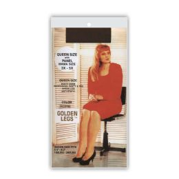60 Units of Golden Legs Sheer Pantyhose In White Queen Plus Size - Womens Pantyhose