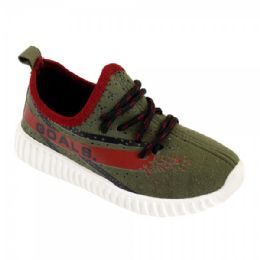 9 Units of Kids Blessed Jogger In Olive - Boys Sneakers