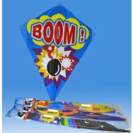 36 Units of Kite In Poly Bag Header Card 6 Asst. - Summer Toys