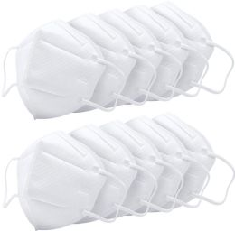 10000 Units of KN95 Mask Anti Pollution Breathable Masks Disposable Anti Dust, Germ Protection for Men and Women White - First Aid and Hygiene Gear