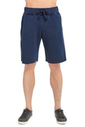 12 Units of Knocker Men's Fleece Shorts In Navy Size X Large - Mens Shorts