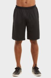 24 Units of Knocker Mens Athletic Shorts In Black Size Large - Mens Shorts