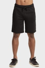 12 Units of Knocker Mens Lightweight Terry Shorts In Black Size X Large - Mens Shorts
