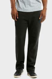12 Units of KNOCKER MENS SLIM FIT FLEECE HEAVY WEIGHT SWEAT PANTS BLACK IN SIZE LARGE - Mens Sweatpants