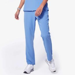 48 Units of Ladies Blue Medical Scrub Pants Size Large - Nursing Scrubs