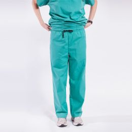 48 Units of Ladies Green Medical Scrub Pants Size Large - Nursing Scrubs