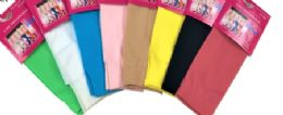 96 Units of Ladies' Trouser Socks In Pink One Size - Womens Crew Sock