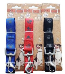 48 Units of Leash Paws Medium Size Assorted - Pet Collars and Leashes