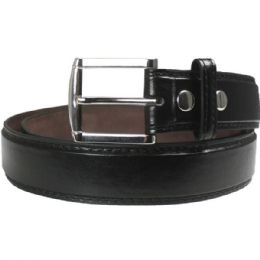 36 Units of Men Belt Black Medium - Mens Belts