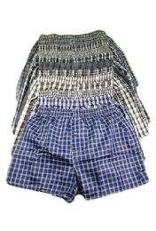 204 Units of Men's Boxer Shorts Size 2XL - Mens Underwear