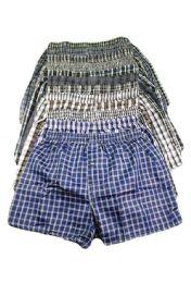 204 Units of Men's Boxer Shorts Size L - Mens Underwear