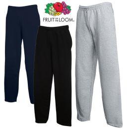 24 Units of Men's Fruit Of The Loom Sweatpants, Size Medium - Mens Sweatpants