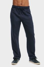 36 Units of MEN'S LIGHTWEIGHT FLEECE SWEATPANTS IN NAVY SIZE L - Mens Sweatpants