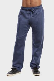 36 Units of MEN'S LIGHTWEIGHT FLEECE SWEATPANTS IN NAVY MRL SIZE XL - Mens Sweatpants