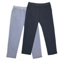 24 Units of Mens Athletic Pants Size XLarge In Black And Grey - Mens Pants