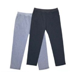 24 Units of Mens Athletic Pants Size XXLarge In Black And Gray - Mens Pants