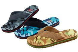 48 Units of Mens Camouflage Flip Flop Sandal Size 6-10 - Men's Flip Flops and Sandals